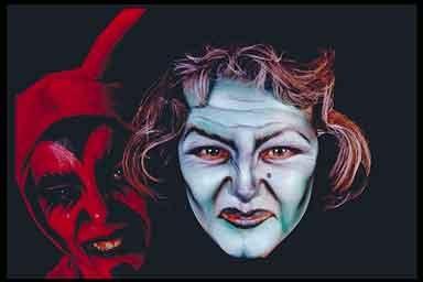 TABLEAU VIVANT PRODUCTION - Body Painting Peinture Maquillage - Prestation Spectacle - Halloween
