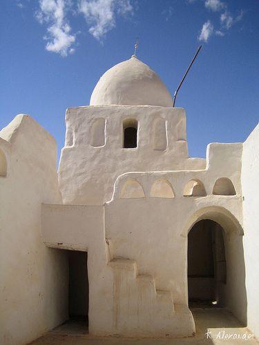 Old Mosque in Ghadames, Libya.  | ©Kalexander2010, on flickr