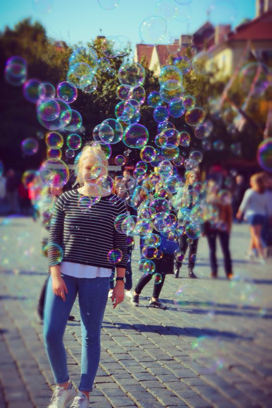 Chasing Bubbles In Old Town Square Prague by Leopard Print Photography Prague (5)