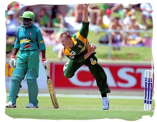 Lance Klusener (right) bowler, South Africa