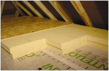 Roof Insulation Sheets installed in Attics and Roofs - How to make your home and garden more earth friendly