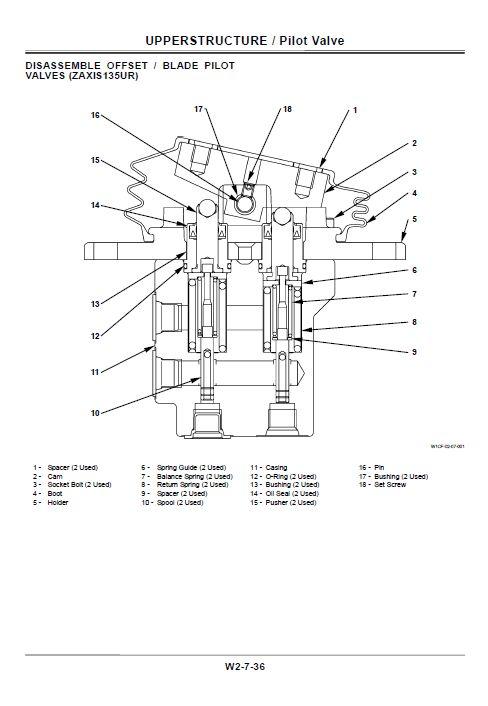 Hitachi ZX110, ZX110M, ZX120, ZX130, ZX130LCN Excavator
