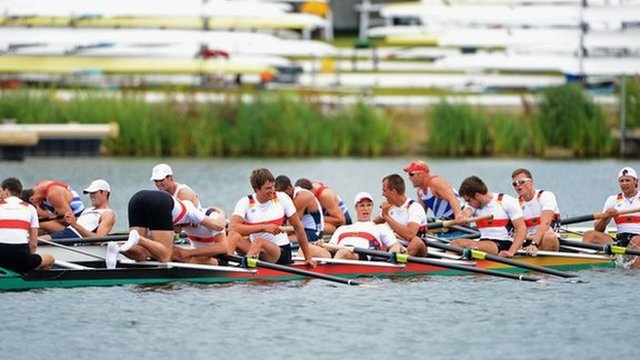 BBC Sport - Olympics rowing: GB bronze in men's eight won by Germany
