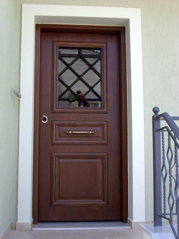 Θωρακισμένες πόρτες ασφαλείας » Με παράθυρο.