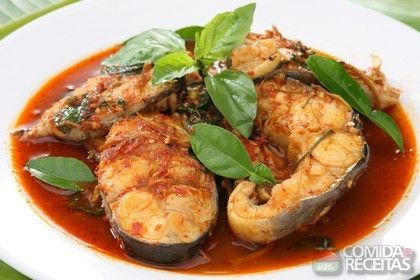 Receita de Moqueca de cação em receitas de peixes, veja essa e outras receitas aqui!
