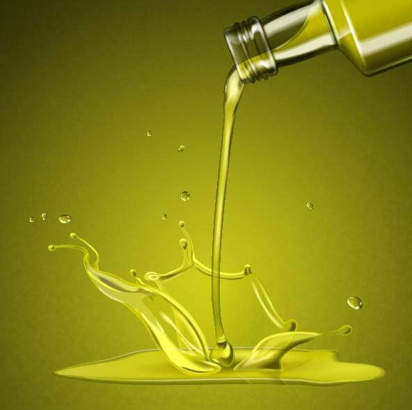 Fond De Vecteur Eclaboussures D Huile D Olive Eclaboussures Huile Olive Vectors Olive Oil Packaging Oils Visual Advertising