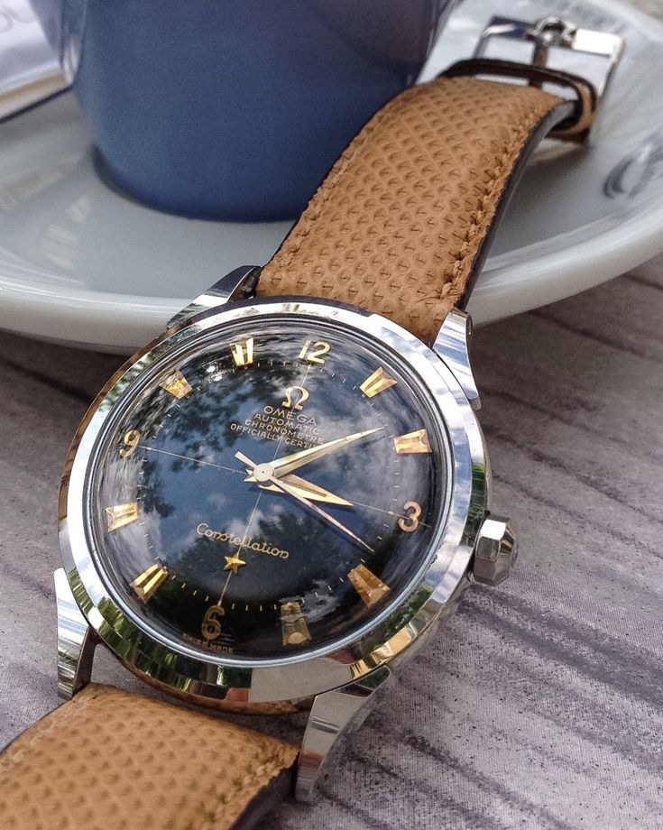 Vintage OMEGA Constellation Chronometer In Stainless Steel Circa 1950s - https://omegaforums.net