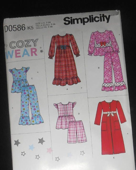 Girls Size 14 Christmas Pajamas
