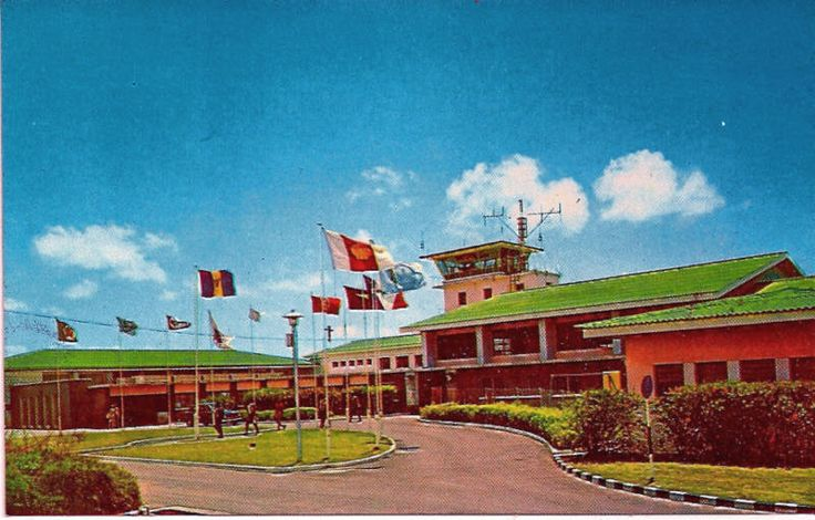 Seawell International Airport Barbados - Now Grantley Adams International Airport