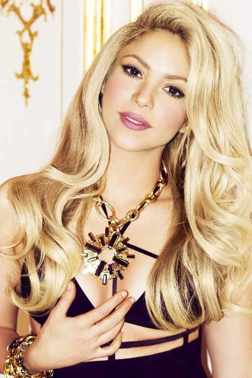 Shakira is a very very pretty woman