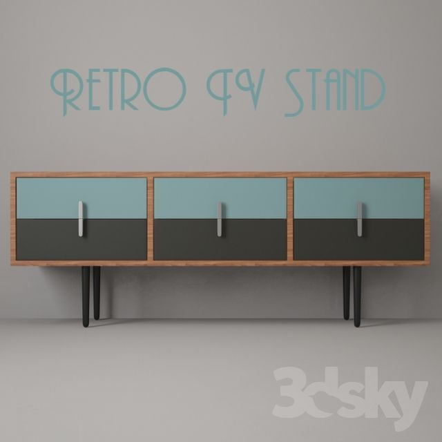 Retro TV Stand N1 | TV Stand