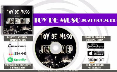 Toy De Muso : PURCHASE JOZI GQOM EP IN ANY DIGITAL MUSIC STORE