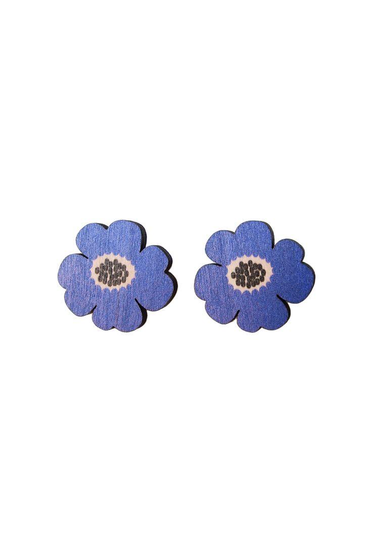 Poola Kataryna - Esikko earrings, Blue, 24 €