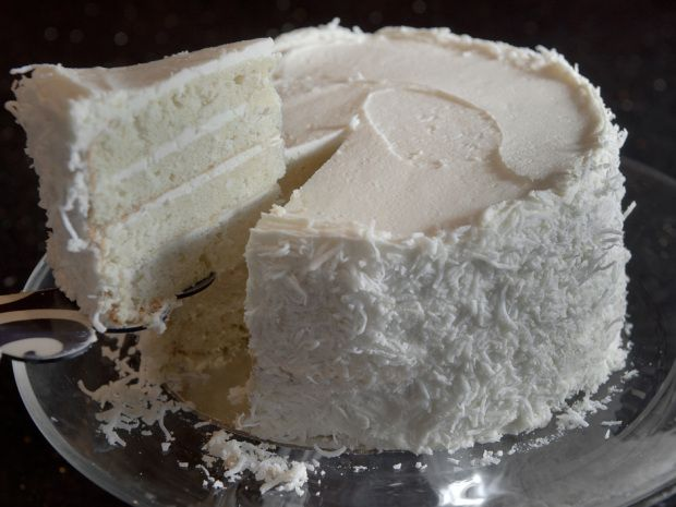 Bonnie Stern's coconut layer cake, inspired by a trip to Charleston.