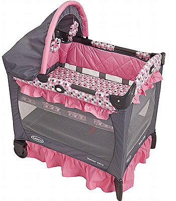 Graco Travel Lite Crib, perfect for by the bed and on the go