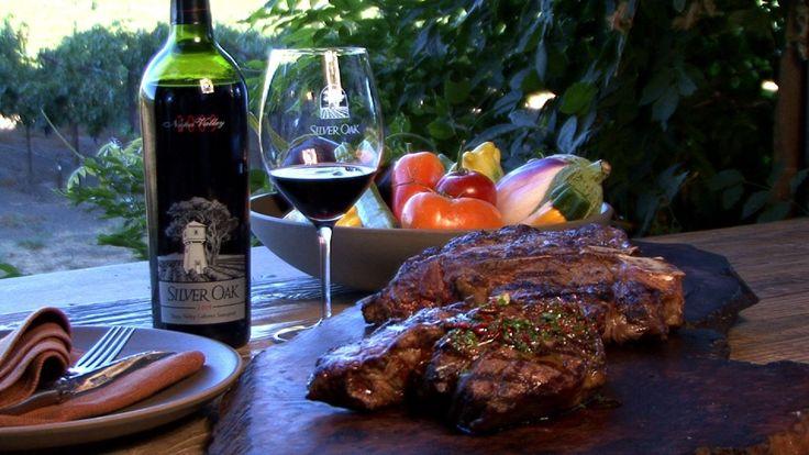 Best Steaks for Silver Oak Wines?