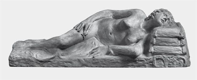 Αναπαυόμενη (1931) Εθνική Γλυπτοθήκη Γύψος