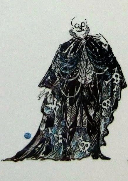 Masquerade - The Skull (worn by Monsieur Firmin)