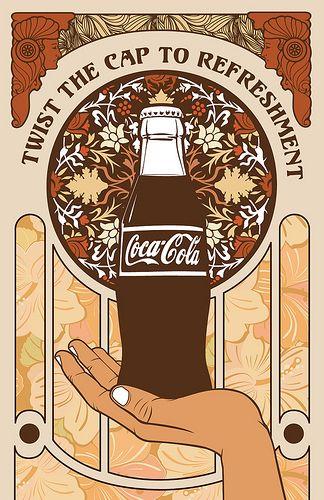 coca cola art noveau 7