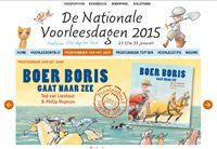 Boer Boris gaat naar zee. Prentenboek van het jaar 2015