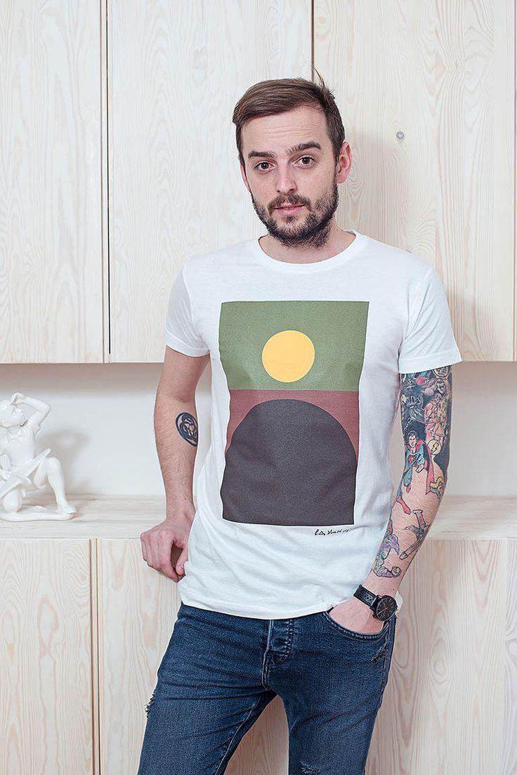 Leonardo / Pánská trička Youngprimitive. Originální tričko pro kluky.