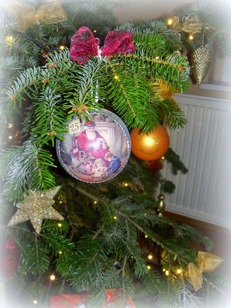 Christmas tree - decoupage