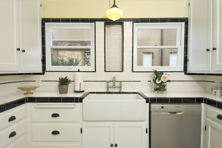 Good Home Construction's Renovation Blog: Completed Pictures for a 1930's Vintage Kitchen