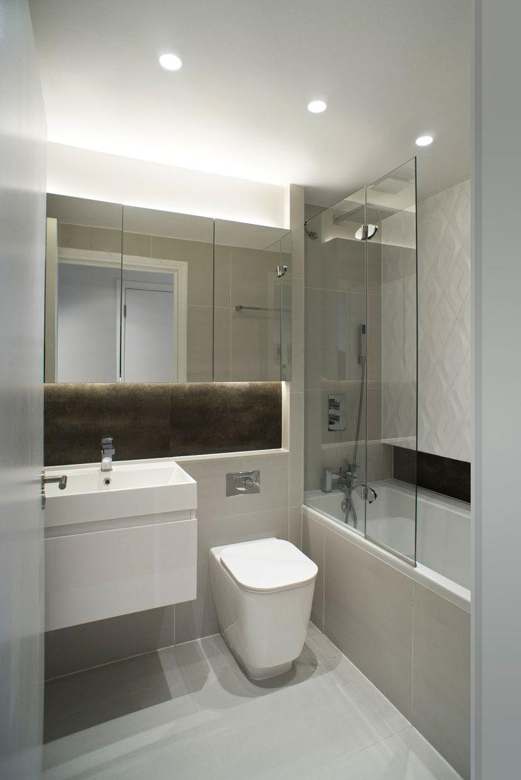 Contemporary condo bath modern bathroom chicago by jill jordan - London Chelsea Apartment Referbishment Interior Design_bathroom Design Bathroomchelseaapartments