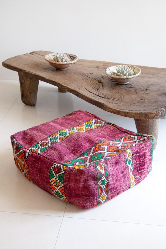 Pouf Chan air   Moroccan max Pouf Moroccan Poufs  strong Luu Vintage go Maroon Combo and