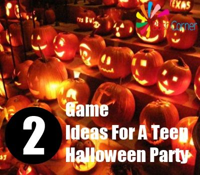 2 game ideas for a teen halloween party - Fun Halloween Games For Teenagers