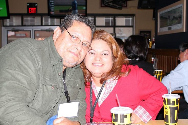 My beautiful wife and me!