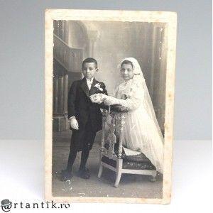 "inedita fotografie de studio "" Gitanos Boda "" - 1917 - Spania"