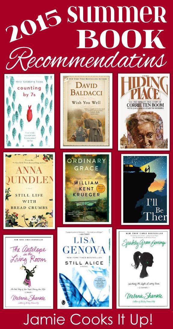 2015 Summer Book Recommendations from Jamie Cooks It Up!