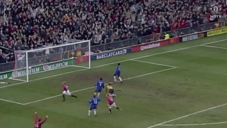 Check out the MUTV app for classic United v Chelsea action - like Diego Forlan's late winner from 2003!  Download: http://manutd.co/dw