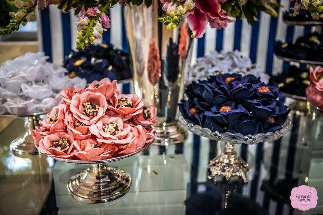 decoracao de casamento azul escuro e amarelo : decoracao de casamento azul escuro e amarelo:Casamento azul marinho e rosa