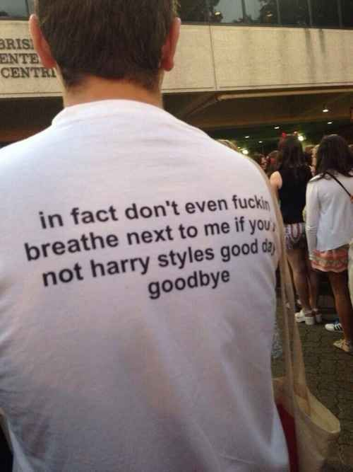 Basically anybody who isn't Harry Styles is just wasting their time bothering you.   39 Totally Legit Struggles Of Being A One Direction Fangirl