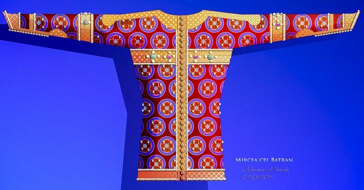 https://flic.kr/p/y1VofF | mirceacelbatran_veston144 | Prima incercare de reconstituire a vestonului lui Mircea pe baza frescei din Bolnita Manastirii Cozia