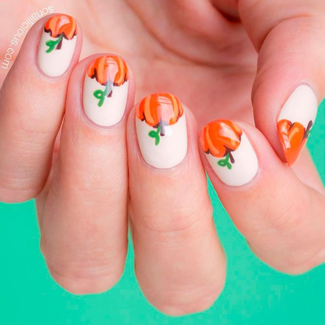 87 best fall nail art images on pinterest nail designs 87 best fall nail art images on pinterest nail designs thanksgiving nails and fall nail art prinsesfo Images