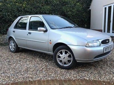 eBay: 1997 Ford Fiesta Ghia Automatic 25,000 Miles -Offers Welcome