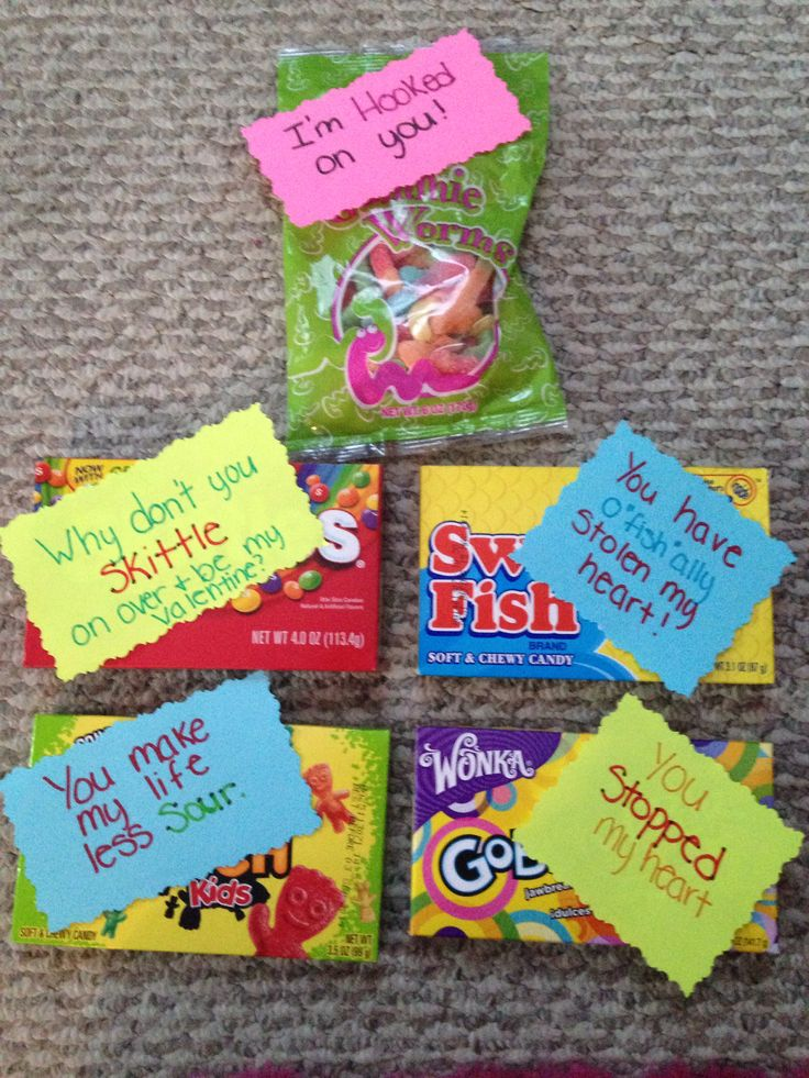 Sweet valentine candy sayings. #valentines #swedishfish # ...