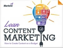 Lean Content Marketing: How to Create Content on a Budget