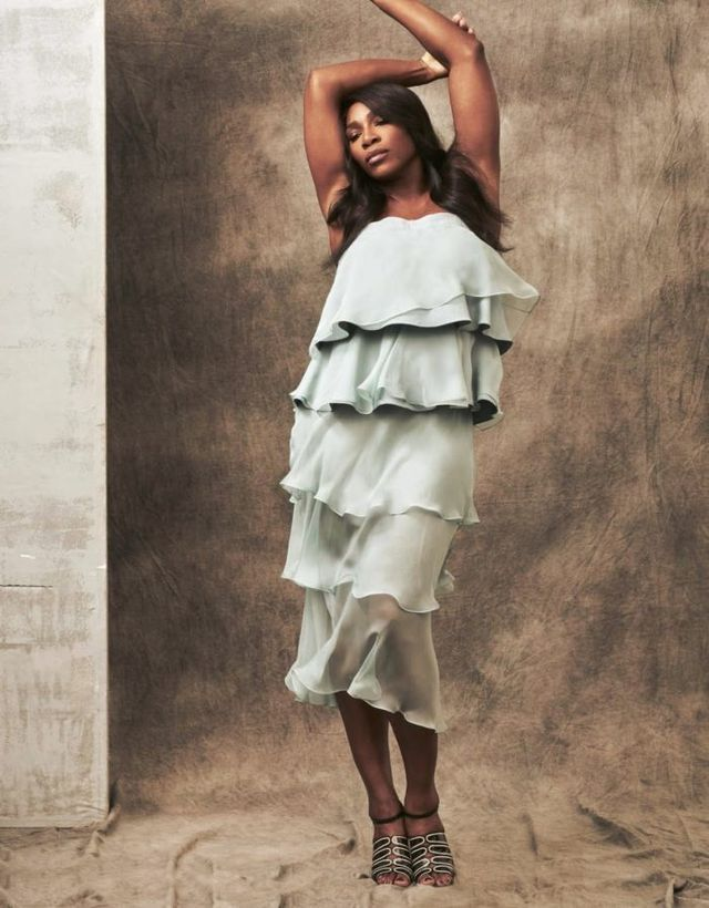 Snapshot: Serena Williams by Stefano Moro Van Wyk for Grazia Italia