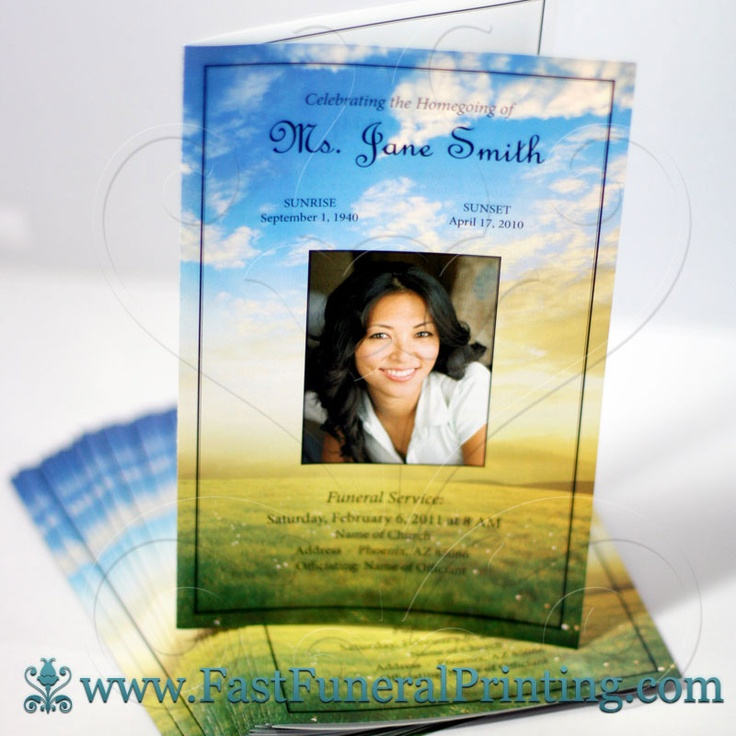 116 best Obituary Template images on Pinterest Software - 35 printable obituary