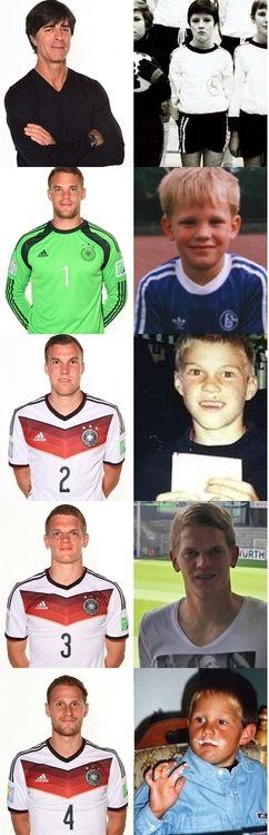 Baby Germany national football team.
