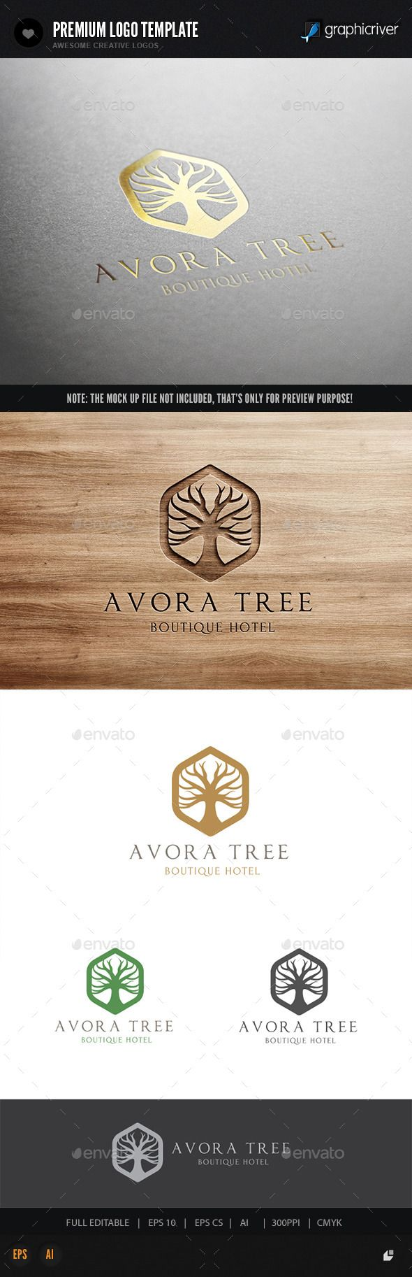 Tree Logo — Vector EPS #earth tone #accommodation • Available here → https://graphicriver.net/item/tree-logo/10717202?ref=pxcr