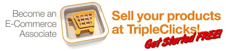 "Q: What is it?  A: The E-Commerce Associates (ECA) Program is a new program available from TripleClicks.com that allows commercial sellers to market their products at Trippleclicks alongside existing Trippleclicks products and also from their own, separate Trippleclicks ""TConnect"" Website."