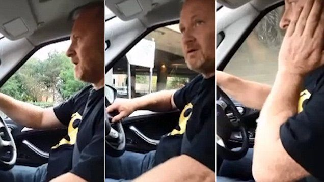 Scots that?: Scot loses it when sat nav can't understand him