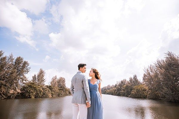 Punggol Lake Outdoor Wedding Photographer Wedding Shoot Pre Wedding Photoshoot