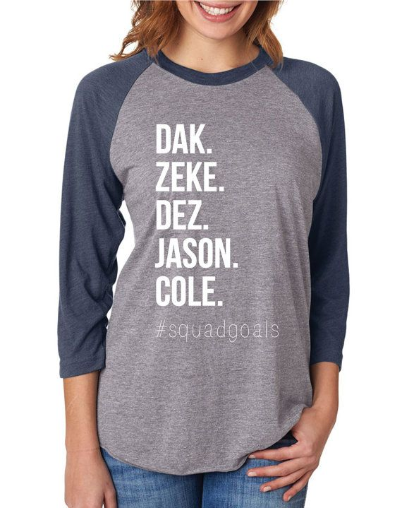 Cowboys Squad, Dak Attack Zeke Cowboys Jason Witten, Dallas Cowboys baseball tee, Dallas Cowboys shirt, Dallas Cowboys Womens shirt  by CozyMelon