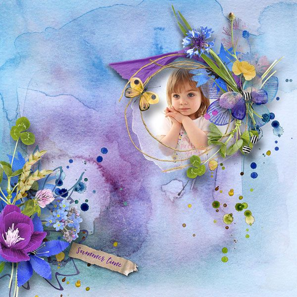 """NEW*NEW*NEW  """" Wild Summer"""" Collection by et designs   http://www.thedigichick.com/shop/et-designs/  save 72%  photo Bogdana Kaznacheeva use with permission"""